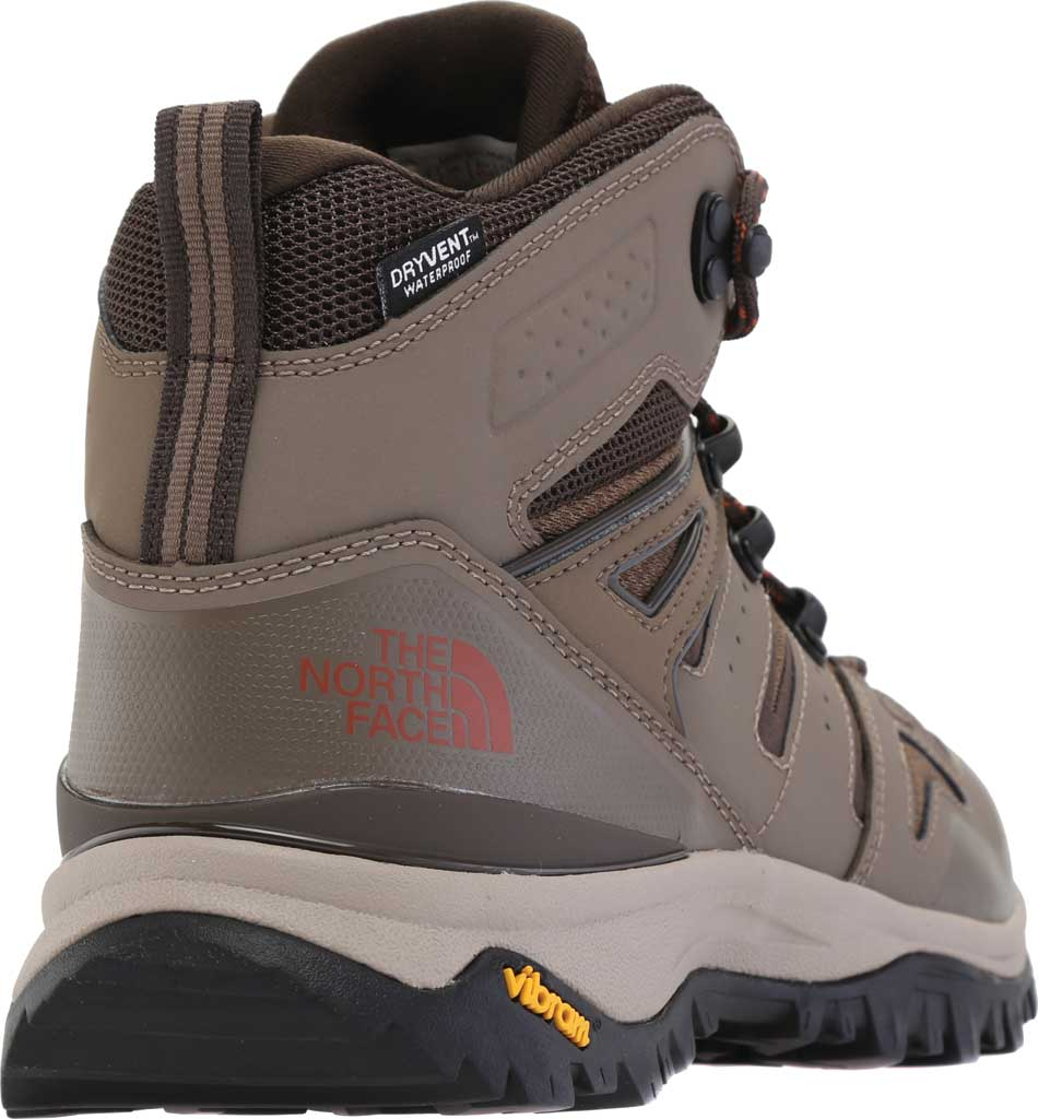 Men's The North Face Hedgehog Fastpack II Mid Waterproof Hiking Boot, Bipartisan Brown/Coffee Brown, large, image 4