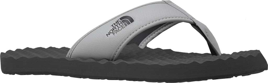 Men's The North Face Base Camp II Flip Flop, Micro Chip Grey/Dark Shadow Grey, large, image 1