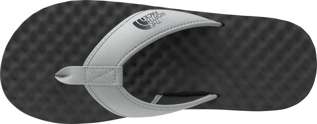 Men's The North Face Base Camp II Flip Flop, Micro Chip Grey/Dark Shadow Grey, large, image 3