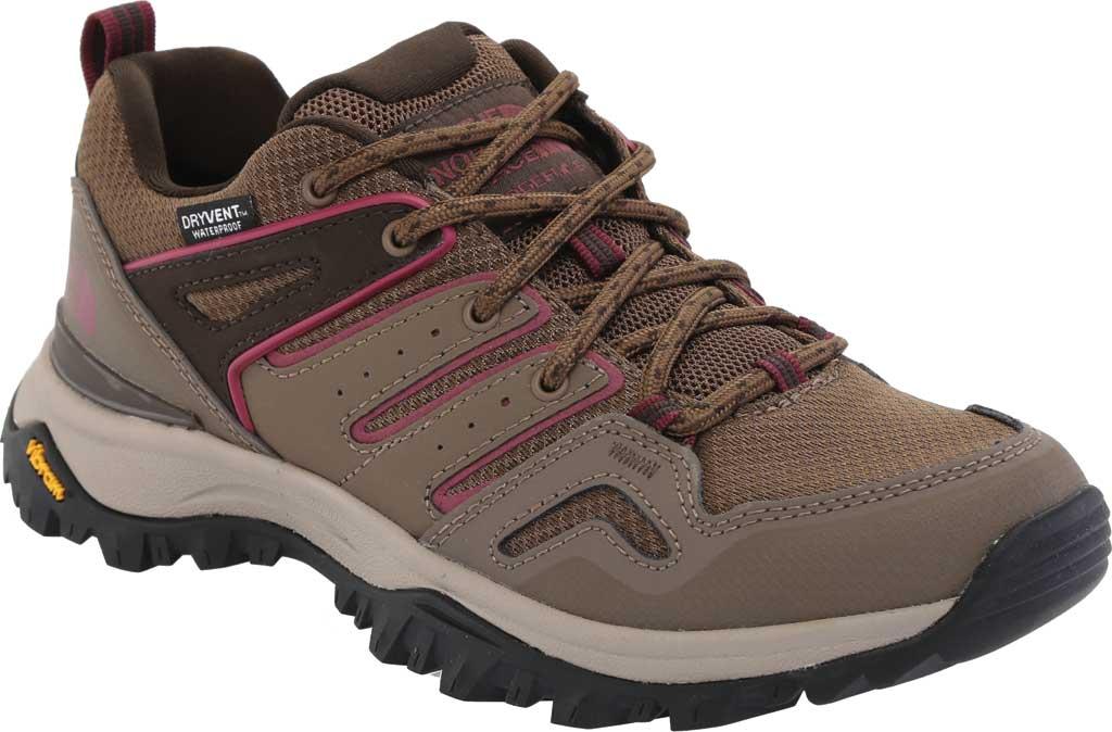 Women's The North Face Hedgehog Fastpack II Mid Waterproof Hiking Boot, Bipartisan Brown/Coffee Brown, large, image 1