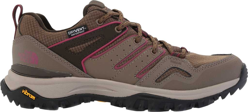 Women's The North Face Hedgehog Fastpack II Mid Waterproof Hiking Boot, Bipartisan Brown/Coffee Brown, large, image 2
