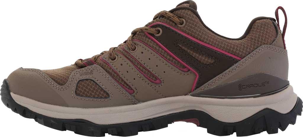 Women's The North Face Hedgehog Fastpack II Mid Waterproof Hiking Boot, Bipartisan Brown/Coffee Brown, large, image 3