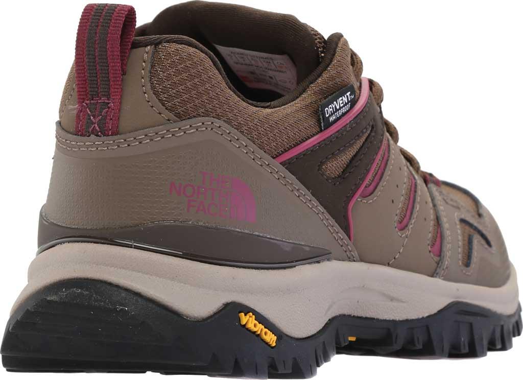 Women's The North Face Hedgehog Fastpack II Mid Waterproof Hiking Boot, Bipartisan Brown/Coffee Brown, large, image 4