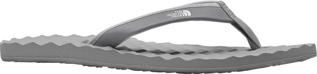 Women's The North Face Base Camp Mini II Flip Flop, Meld Grey/TNF White, large, image 1