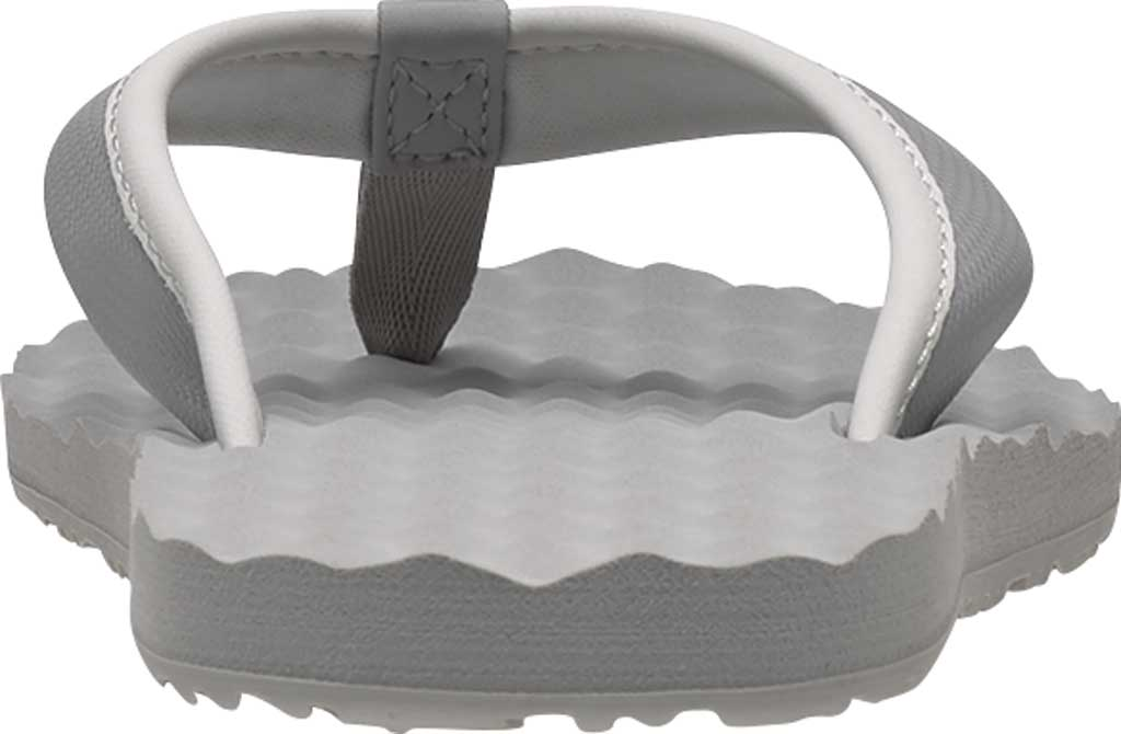Women's The North Face Base Camp Mini II Flip Flop, Meld Grey/TNF White, large, image 2