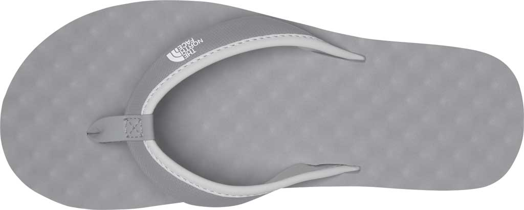Women's The North Face Base Camp Mini II Flip Flop, Meld Grey/TNF White, large, image 3