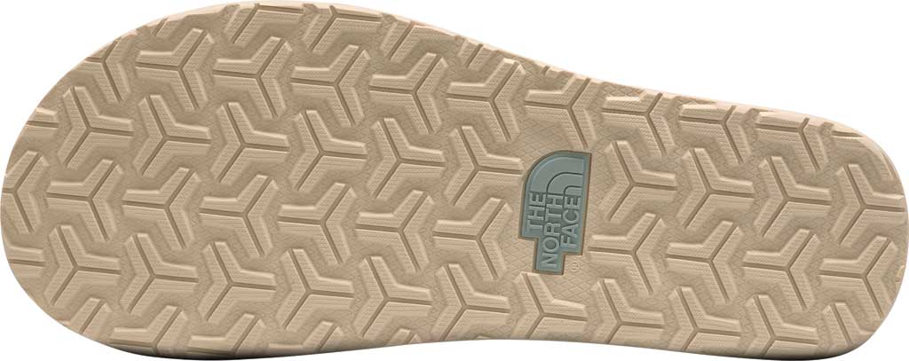 Women's The North Face Base Camp Mini II Flip Flop, Green Mist/Wrought Iron, large, image 4