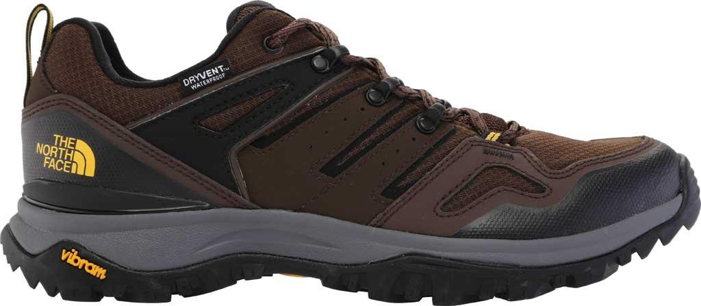 Men's The North Face Hedgehog Fastpack II Waterproof Hiking Shoe, Chocolate Brown/TNF Black, large, image 2