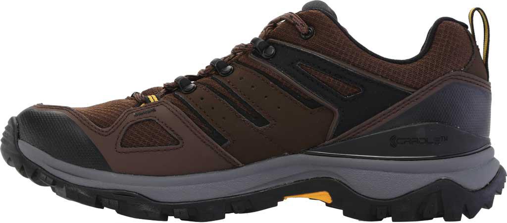 Men's The North Face Hedgehog Fastpack II Waterproof Hiking Shoe, Chocolate Brown/TNF Black, large, image 3