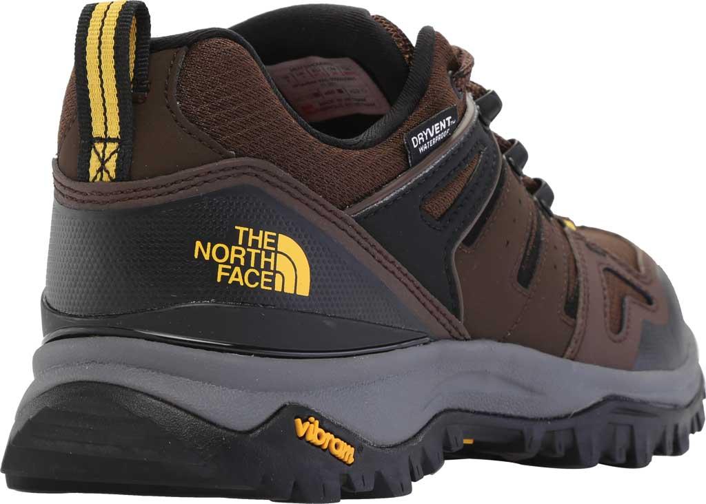 Men's The North Face Hedgehog Fastpack II Waterproof Hiking Shoe, Chocolate Brown/TNF Black, large, image 4