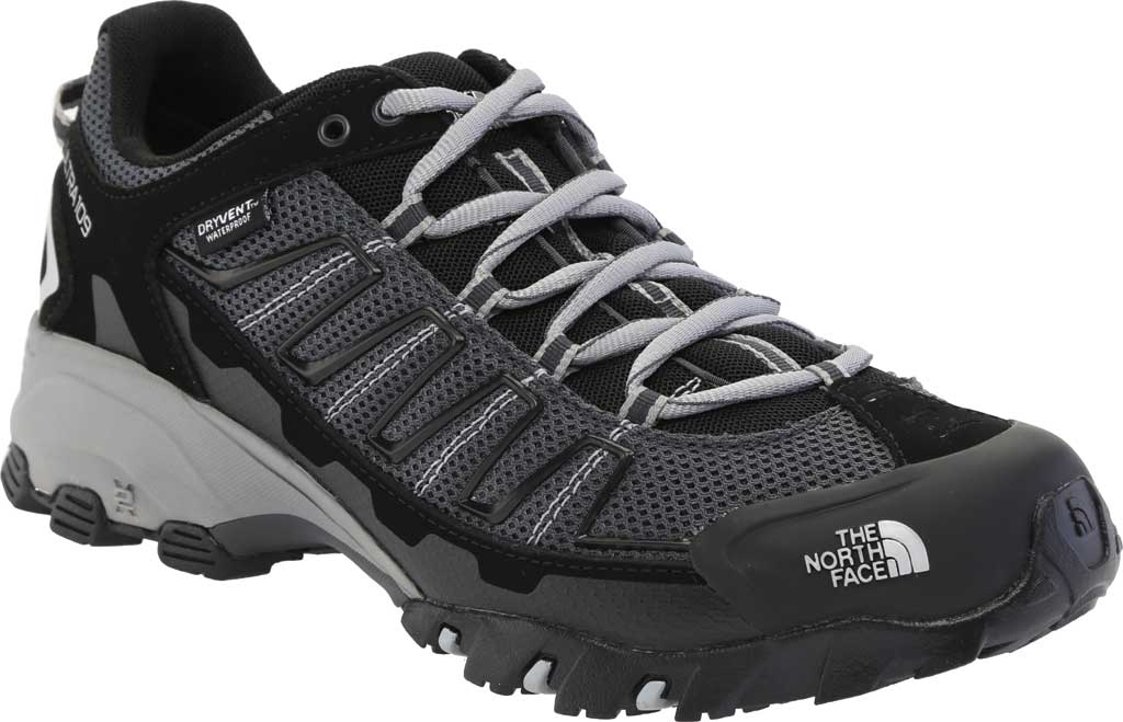 Men's The North Face Ultra 109 Waterproof Hiking Shoe, TNF Black/Dark Shadow Grey, large, image 1