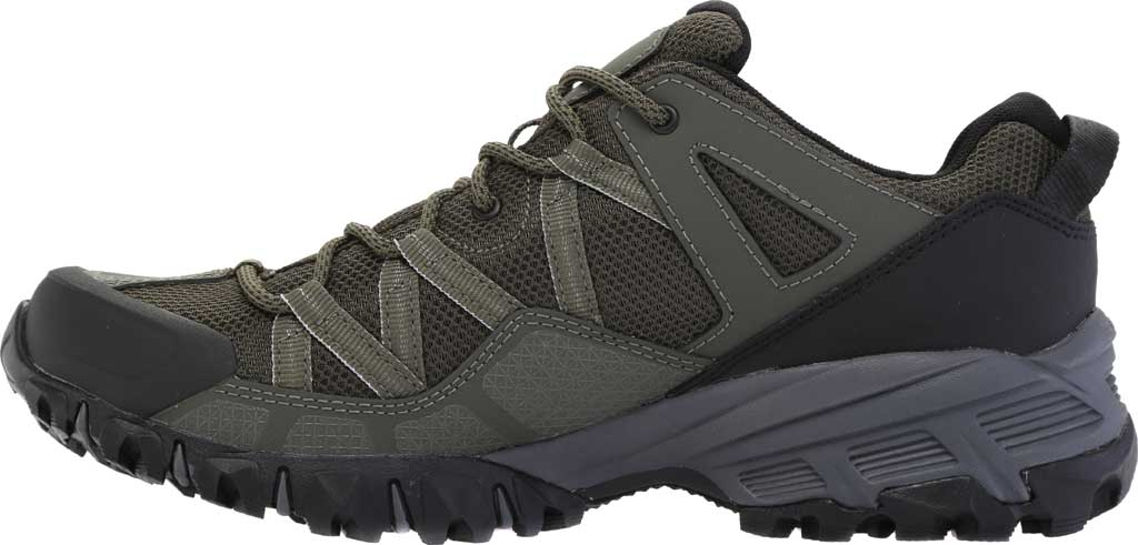 Men's The North Face Ultra 111 Waterproof Trail Shoe, New Taupe Green/TNF Black, large, image 3