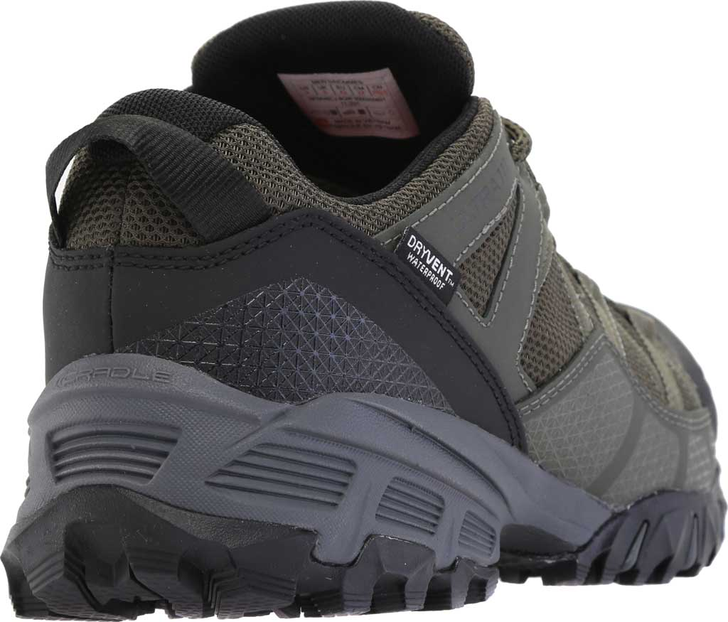 Men's The North Face Ultra 111 Waterproof Trail Shoe, New Taupe Green/TNF Black, large, image 4