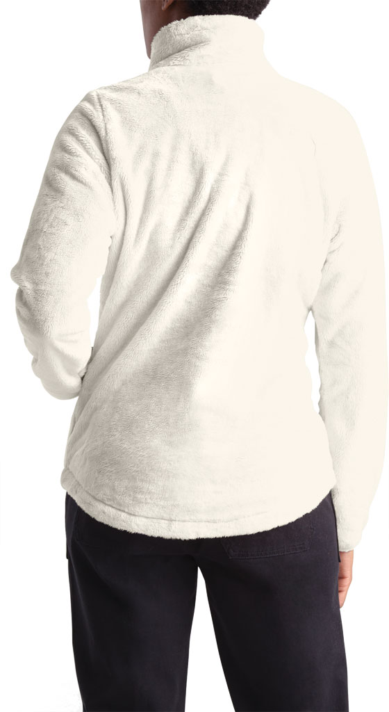 Women's The North Face Osito Quarter Zip Pullover, Vintage White, large, image 2