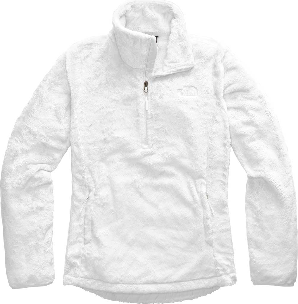 Women's The North Face Osito Quarter Zip Pullover, TNF White, large, image 1