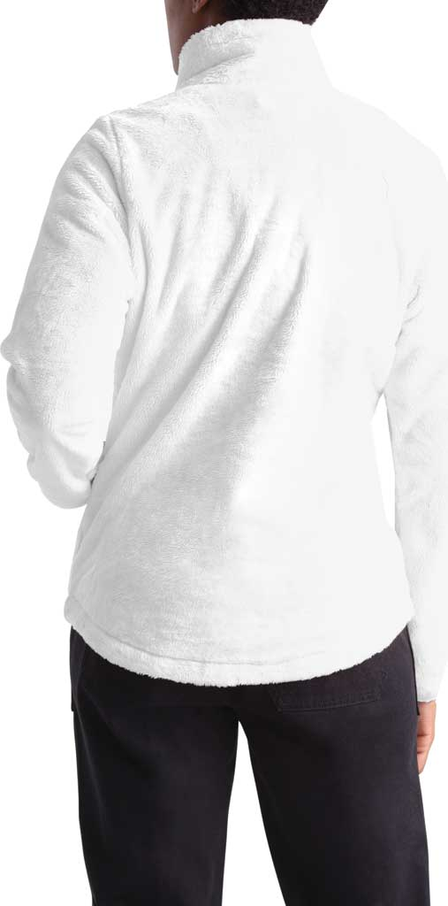 Women's The North Face Osito Quarter Zip Pullover, TNF White, large, image 2