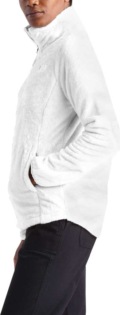 Women's The North Face Osito Quarter Zip Pullover, TNF White, large, image 3