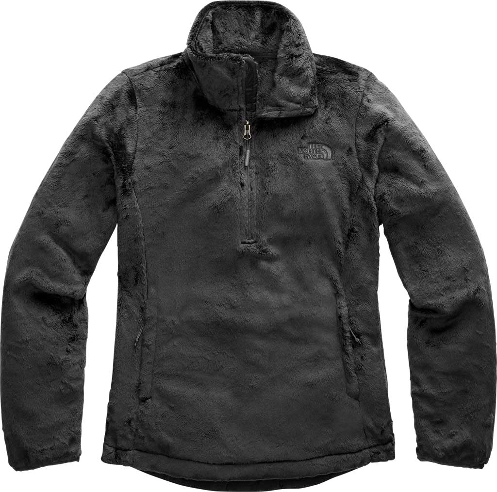 Women's The North Face Osito Quarter Zip Pullover, Asphalt Grey, large, image 1