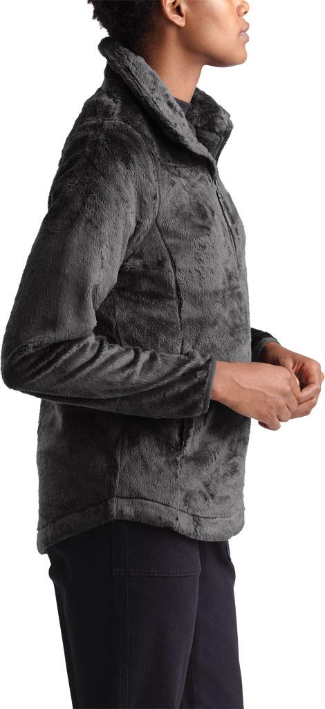 Women's The North Face Osito Quarter Zip Pullover, Asphalt Grey, large, image 3