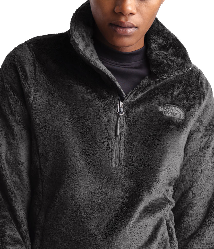Women's The North Face Osito Quarter Zip Pullover, Asphalt Grey, large, image 4