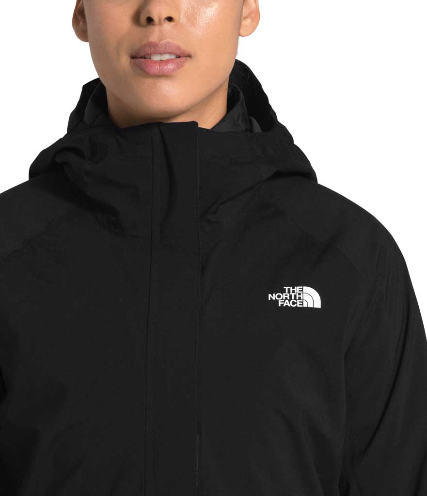 Women's The North Face ThermoBall Eco Triclimate Jacket, TNF Black, large, image 4