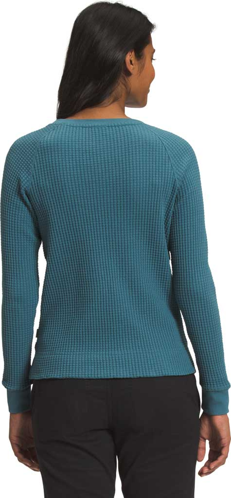 Women's The North Face Long Sleeve Chabot Crew Sweatshirt, Mallard Blue, large, image 2
