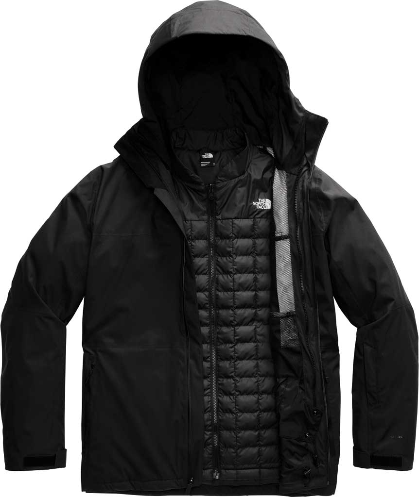 Men's The North Face ThermoBall Eco Snow Triclimate Quilted Jacket, TNF Black, large, image 1