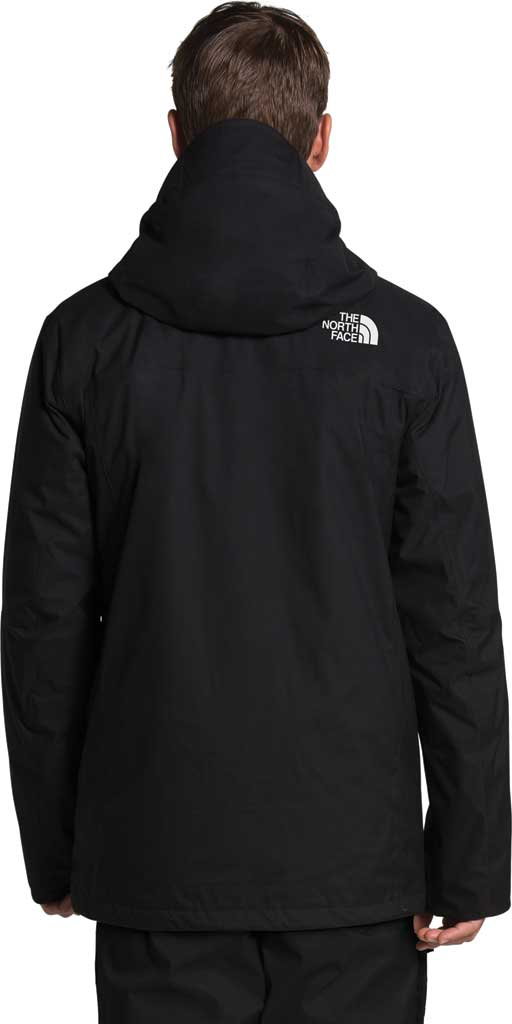 Men's The North Face ThermoBall Eco Snow Triclimate Quilted Jacket, TNF Black, large, image 2
