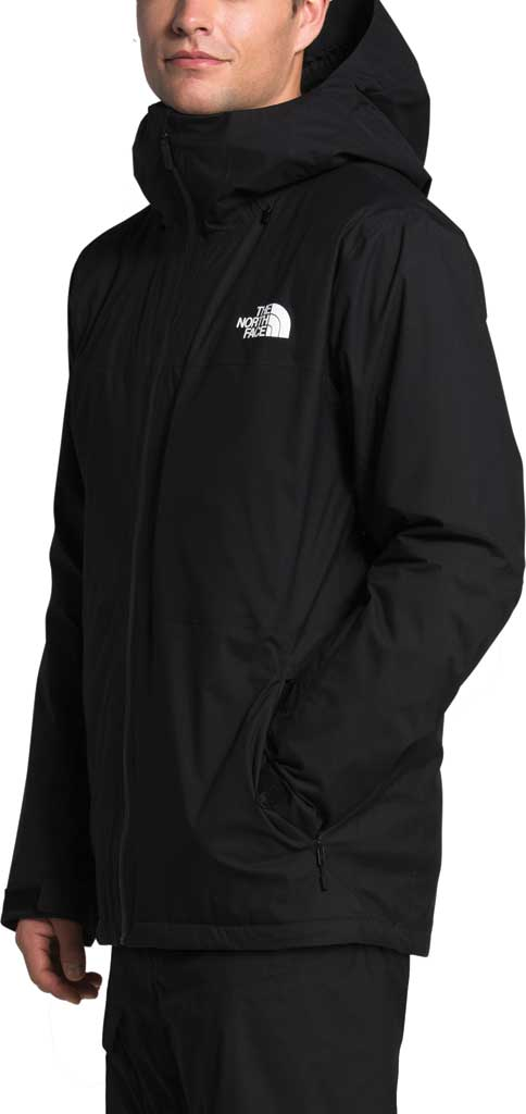 Men's The North Face ThermoBall Eco Snow Triclimate Quilted Jacket, TNF Black, large, image 3