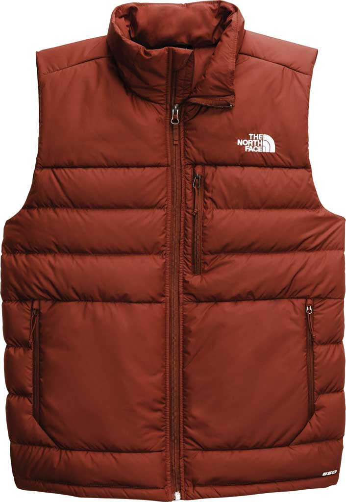 Men's The North Face Aconcagua 2 Quilted Vest, Brandy Brown, large, image 1