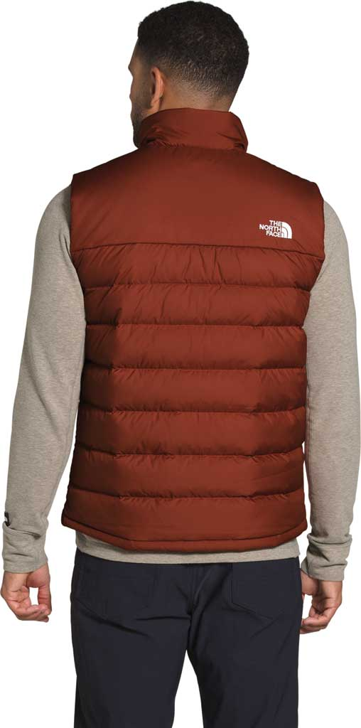 Men's The North Face Aconcagua 2 Quilted Vest, Brandy Brown, large, image 2