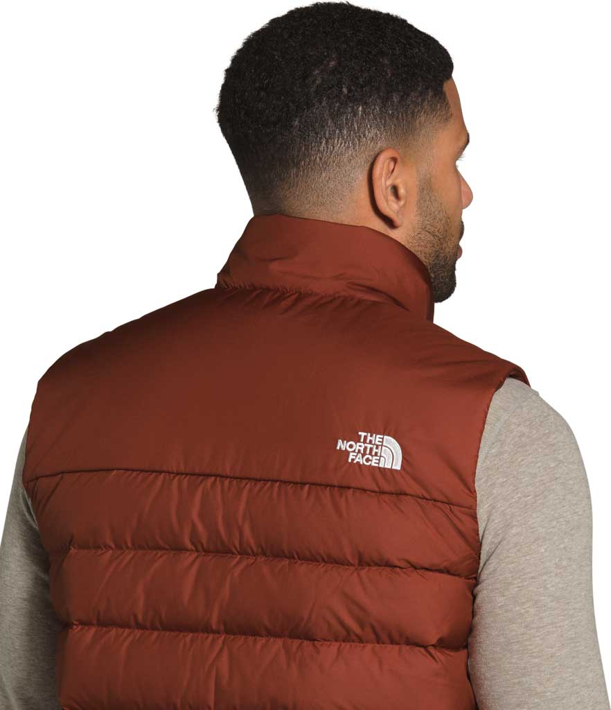 Men's The North Face Aconcagua 2 Quilted Vest, Brandy Brown, large, image 4