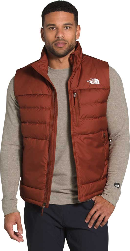 Men's The North Face Aconcagua 2 Quilted Vest, Brandy Brown, large, image 5