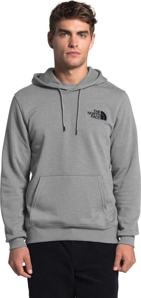 Men's The North Face Patch Pullover Hoodie, TNF Medium Grey Heather, large, image 1