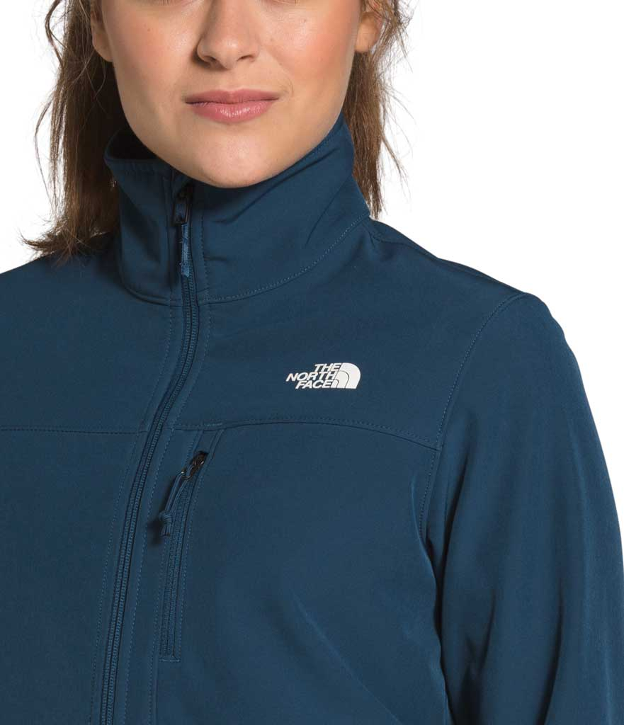 Women's The North Face Apex Bionic Windbreaker, Blue Wing Teal, large, image 4