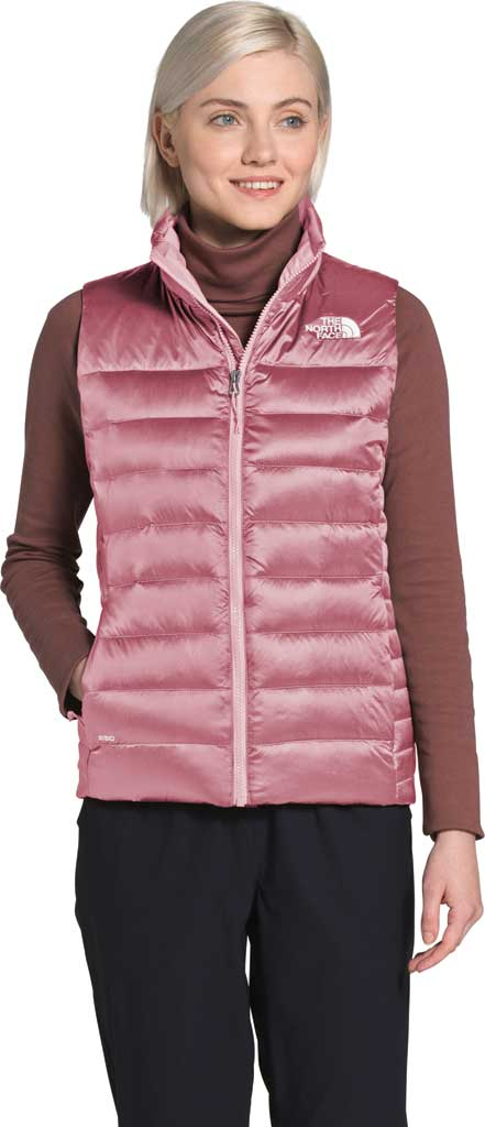 Women's The North Face Aconcagua Quilted Vest, Mesa Rose, large, image 1