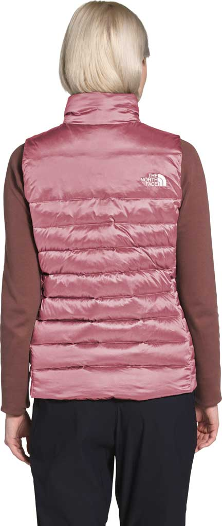 Women's The North Face Aconcagua Quilted Vest, Mesa Rose, large, image 2
