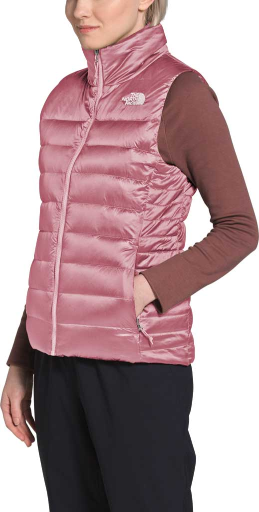 Women's The North Face Aconcagua Quilted Vest, Mesa Rose, large, image 3
