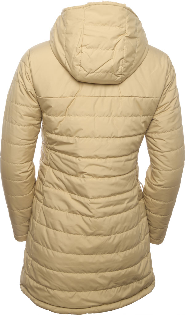 Women's The North Face Mossbud Insulated Reversible Quilted Parka, Hawthorne Khaki, large, image 3