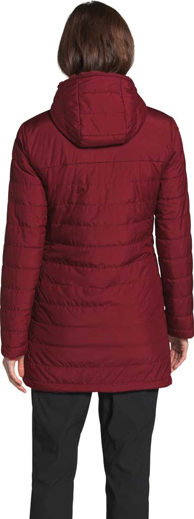 Women's The North Face Mossbud Insulated Reversible Quilted Parka, Pomegranate, large, image 2