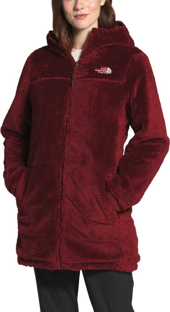 Women's The North Face Mossbud Insulated Reversible Quilted Parka, Pomegranate, large, image 4