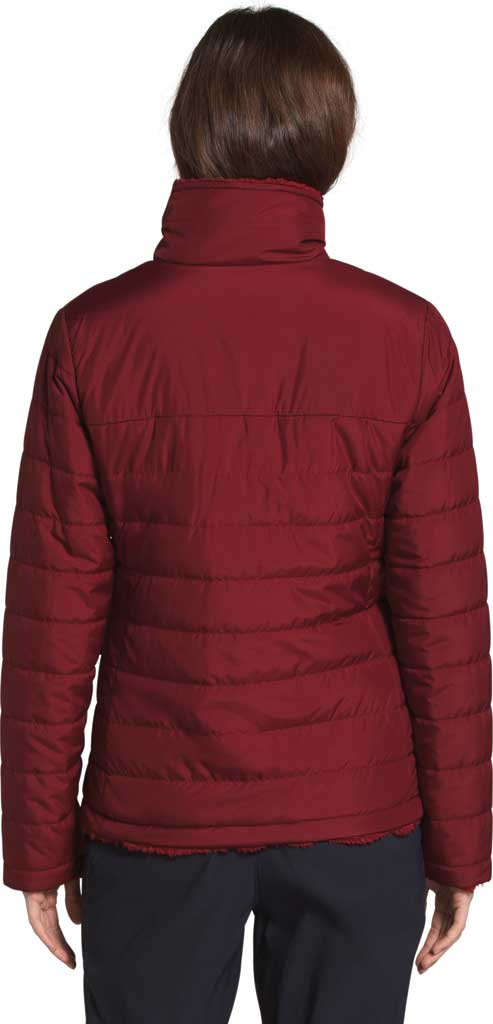 Women's The North Face Mossbud Insulated Reversible Winter Jacket, Pomegranate, large, image 2