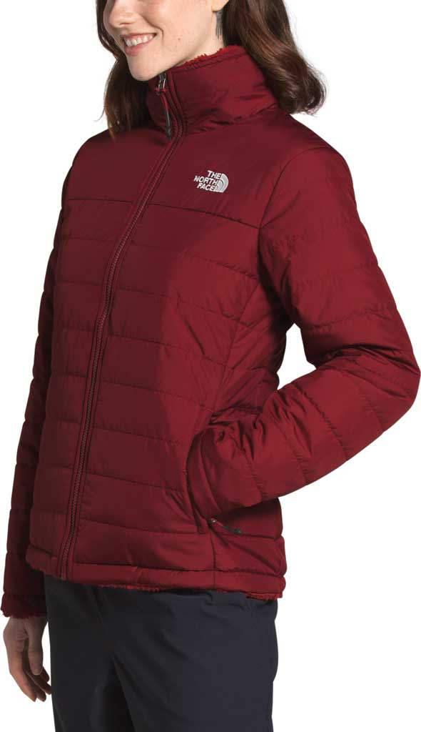 Women's The North Face Mossbud Insulated Reversible Winter Jacket, Pomegranate, large, image 3