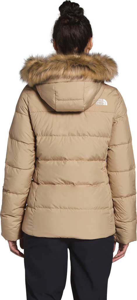 Women's The North Face Gotham Down Quilted Jacket, Hawthorne Khaki, large, image 2