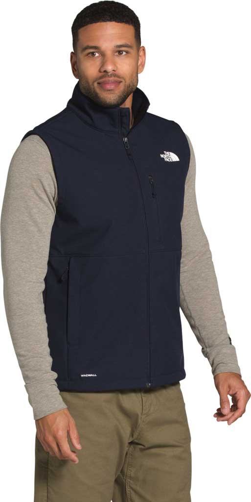 Men's The North Face Apex Bionic 2 Zip Vest, Aviator Navy Heather, large, image 1