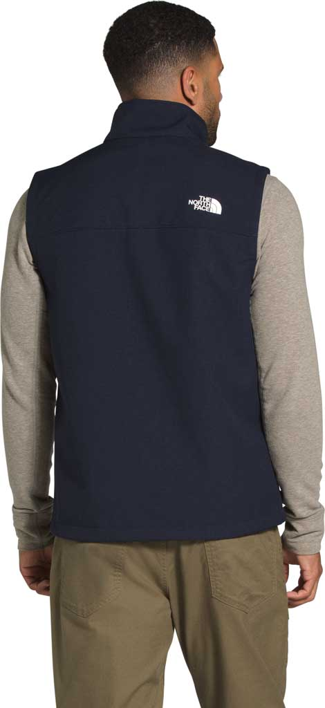 Men's The North Face Apex Bionic 2 Zip Vest, Aviator Navy Heather, large, image 2