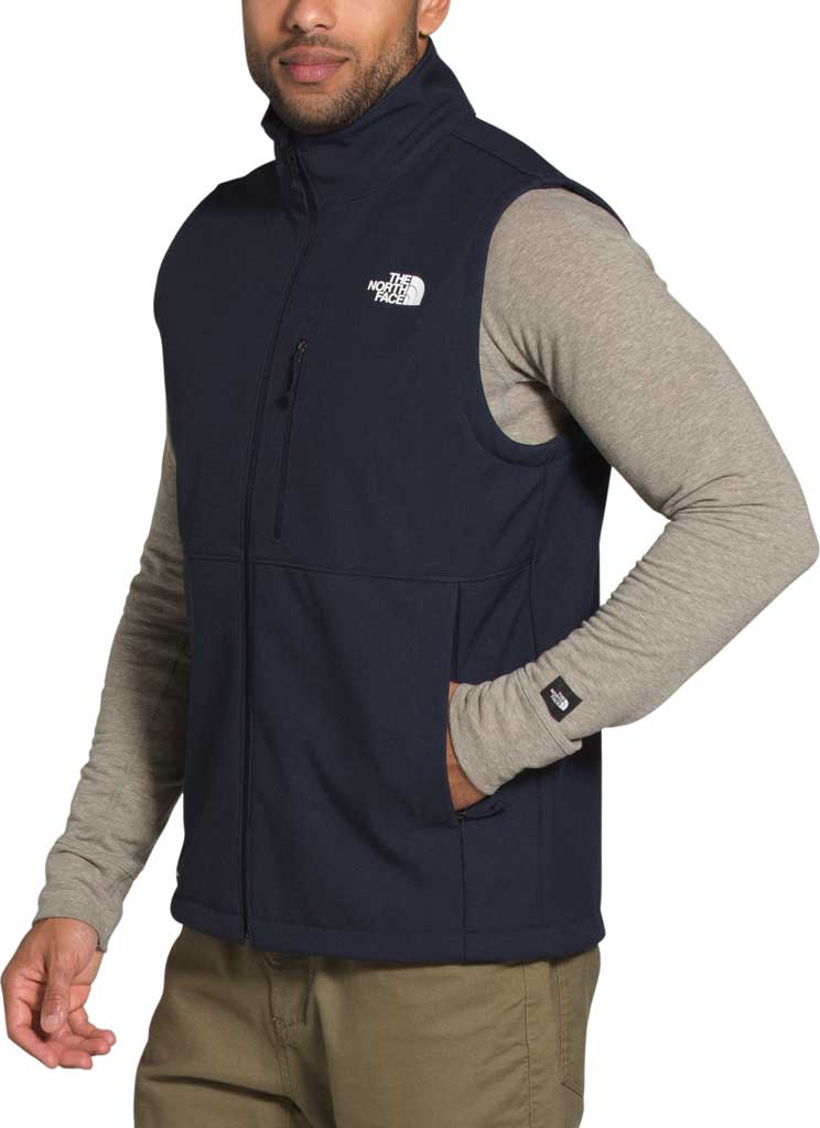 Men's The North Face Apex Bionic 2 Zip Vest, Aviator Navy Heather, large, image 3