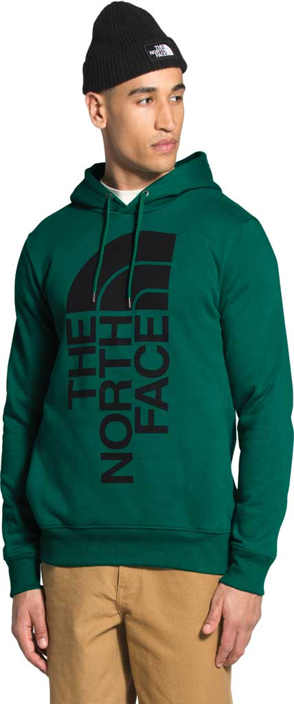 Men's The North Face Trivert Pullover Hoodie 2.0, Evergreen/TNF Black, large, image 1