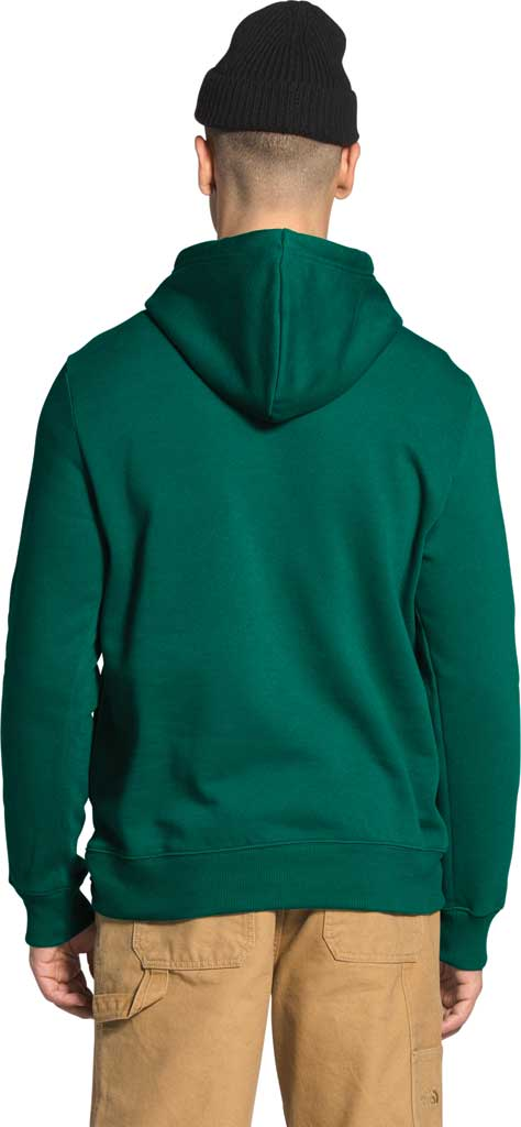 Men's The North Face Trivert Pullover Hoodie 2.0, Evergreen/TNF Black, large, image 2