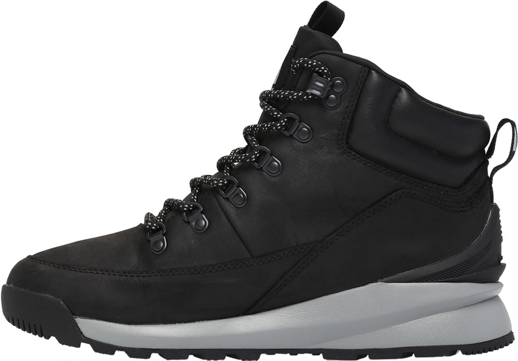 Men's The North Face Back-to-Berkely Mid WP Hiking Boot, TNF Black/Griffin Grey, large, image 3